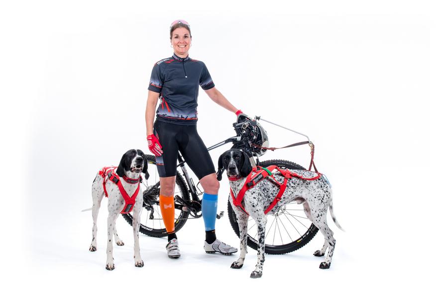 Carlien Harms - Dog racing team Non-stop NL
